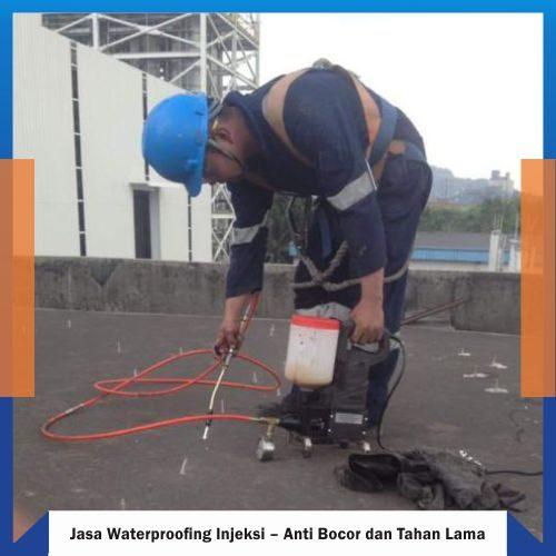 JASA KEBOCORAN - WATERPROOFING INJEKSI